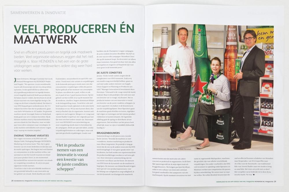 Heineken Nederland Magazine
