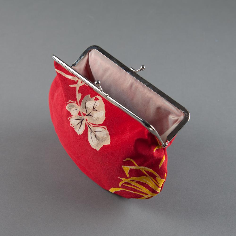SOLD! - kimono silk 05, pink lining  (inside)