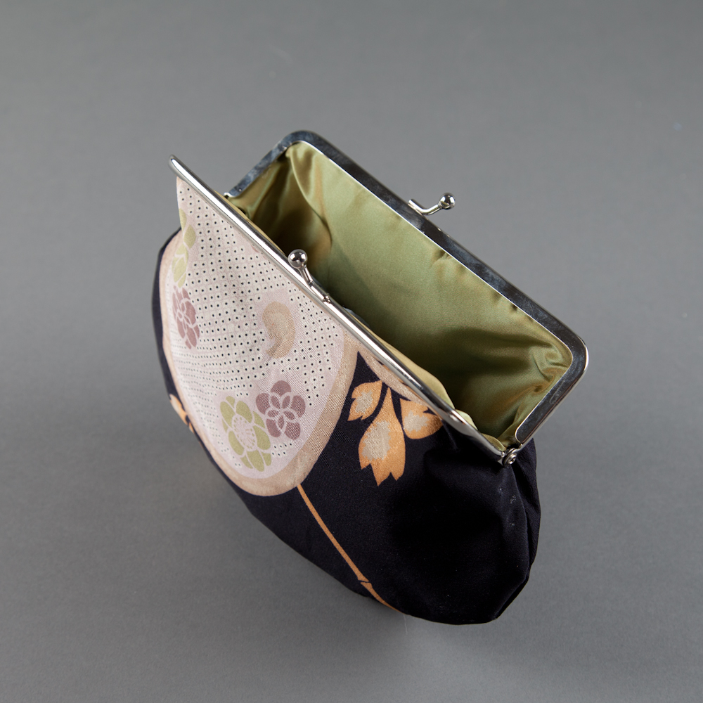 SOLD! - kimono silk 03, green lining (inside)