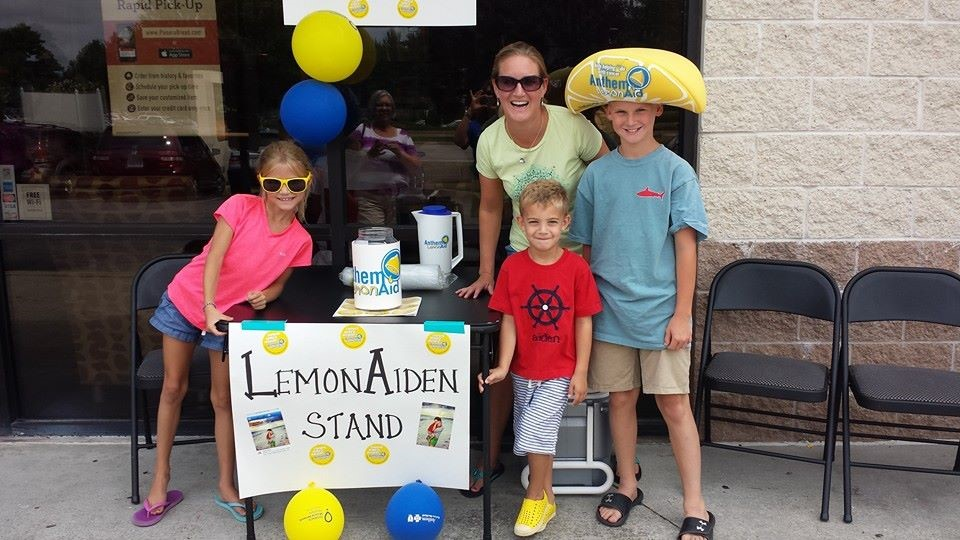 "Aiden's preschool teacher, and her family, sponsored a ""LemonAiden"" stand to benefit Children's Hospital of Richmond (CHoR) at VCU.                                                                                                                                                                                                                                                                                                                                                                                                                                                                                                                                                                                                                                                                                                                                                                                        /* Style Definitions */  table.MsoNormalTable 	{mso-style-name:""Table Normal""; 	mso-tstyle-rowband-size:0; 	mso-tstyle-colband-size:0; 	mso-style-noshow:yes; 	mso-style-priority:99; 	mso-style-parent:""""; 	mso-padding-alt:0in 5.4pt 0in 5.4pt; 	mso-para-margin:0in; 	mso-para-margin-bottom:.0001pt; 	line-height:115%; 	mso-pagination:widow-orphan; 	font-size:11.0pt; 	mso-bidi-font-size:10.0pt; 	font-family:""Arial"",""sans-serif""; 	color:black;}"