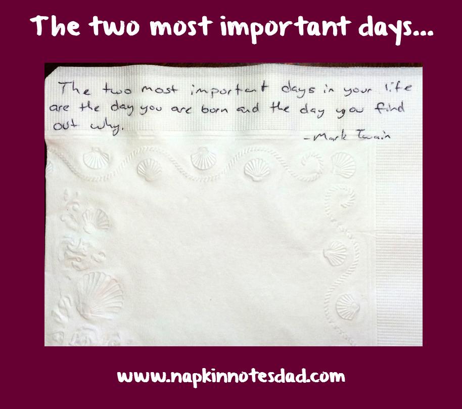 Napkin Note