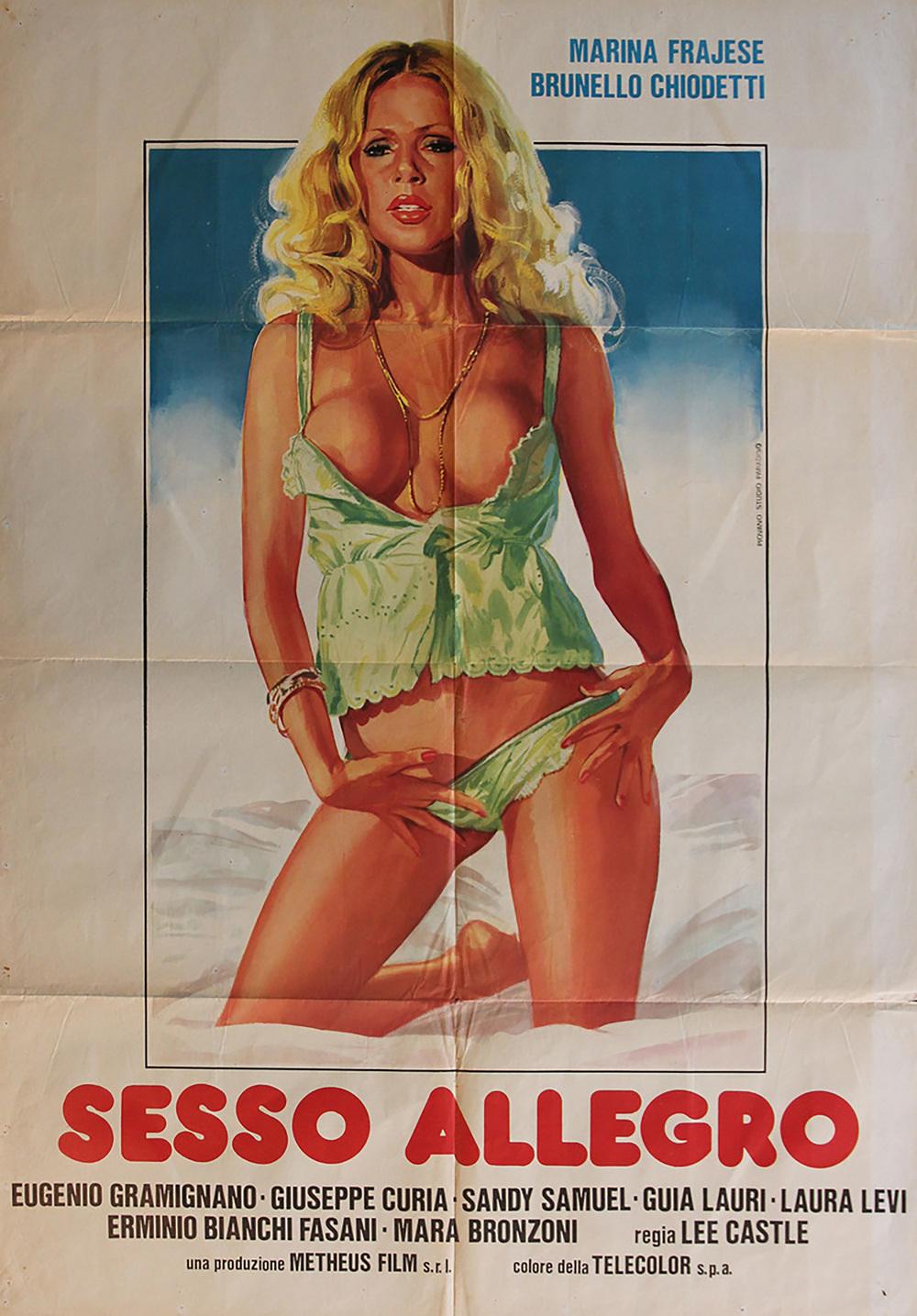 Sesso allegro 1981 italy rare vintagepornbaycom - 1 2