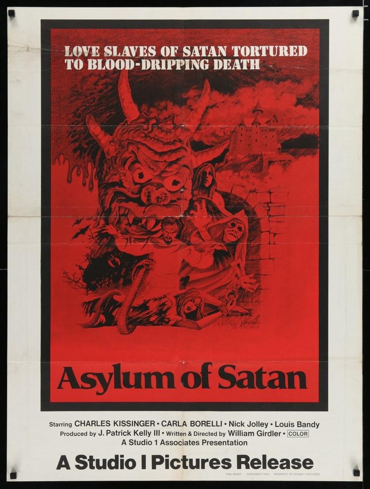 """Asylum of Satan - US 30 x 40"""""""