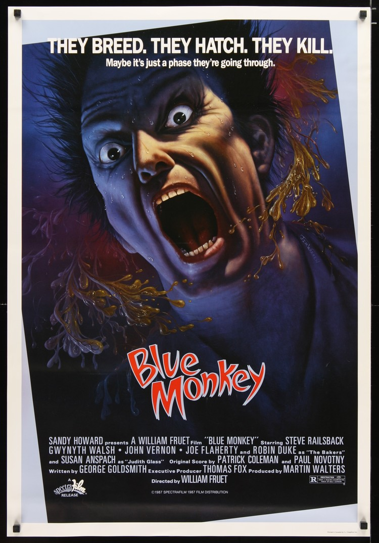 Blue Monkey - US 1 Sheet