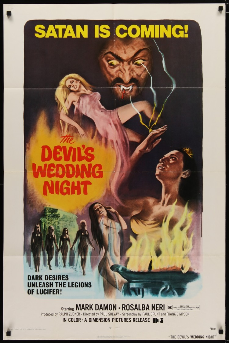 Devil's Wedding Night - US 1 Sheet