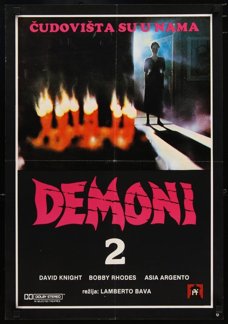 "Demons 2 - Yugoslavian  19 x 27"""