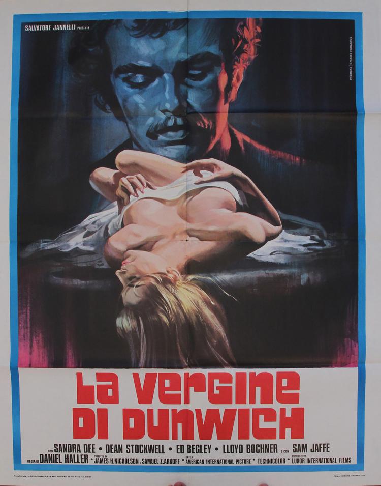 Dunwich Horror - Italian 2F Manifesto