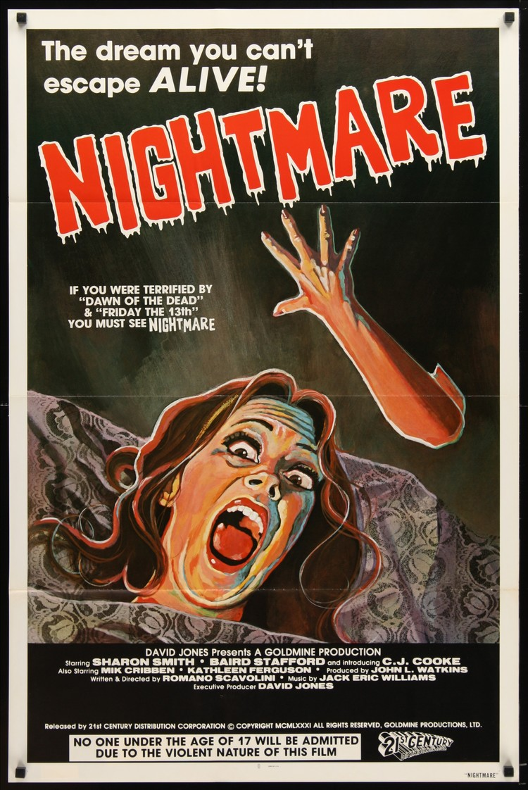 Nightmare - US 1 Sheet