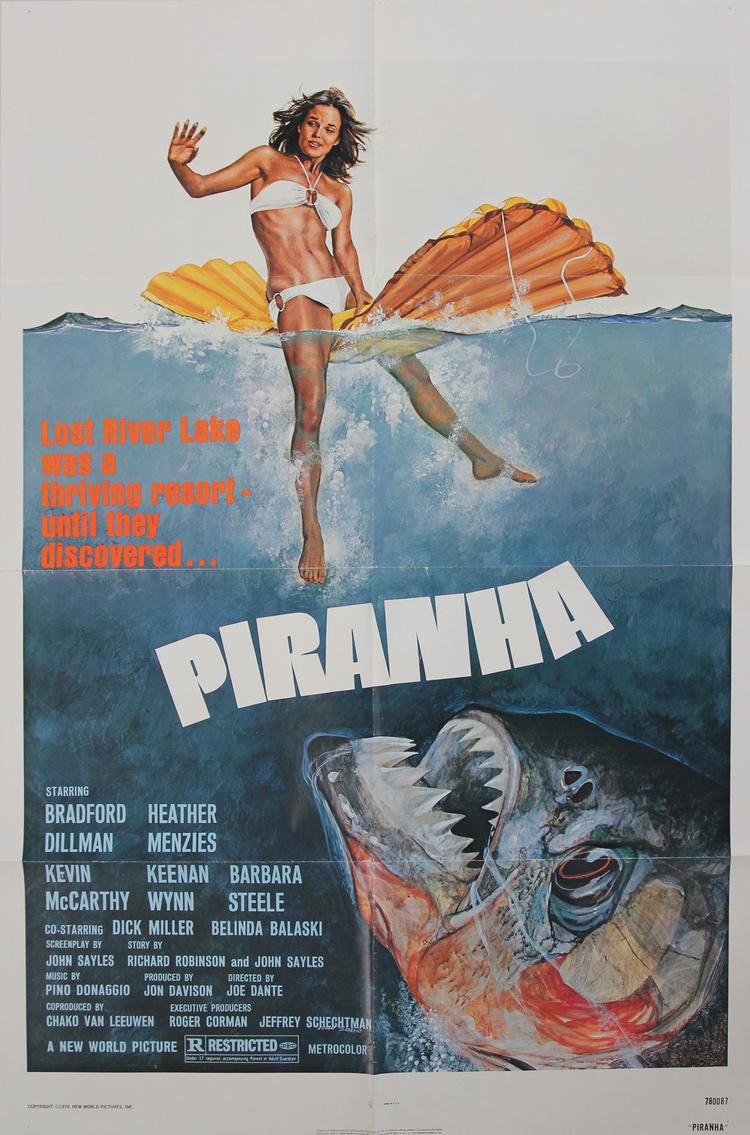 Piranha - US 1 Sheet
