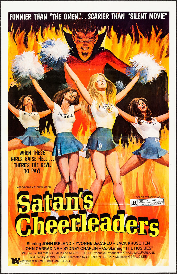 Satan's Cheerleaders - US 1 Sheet