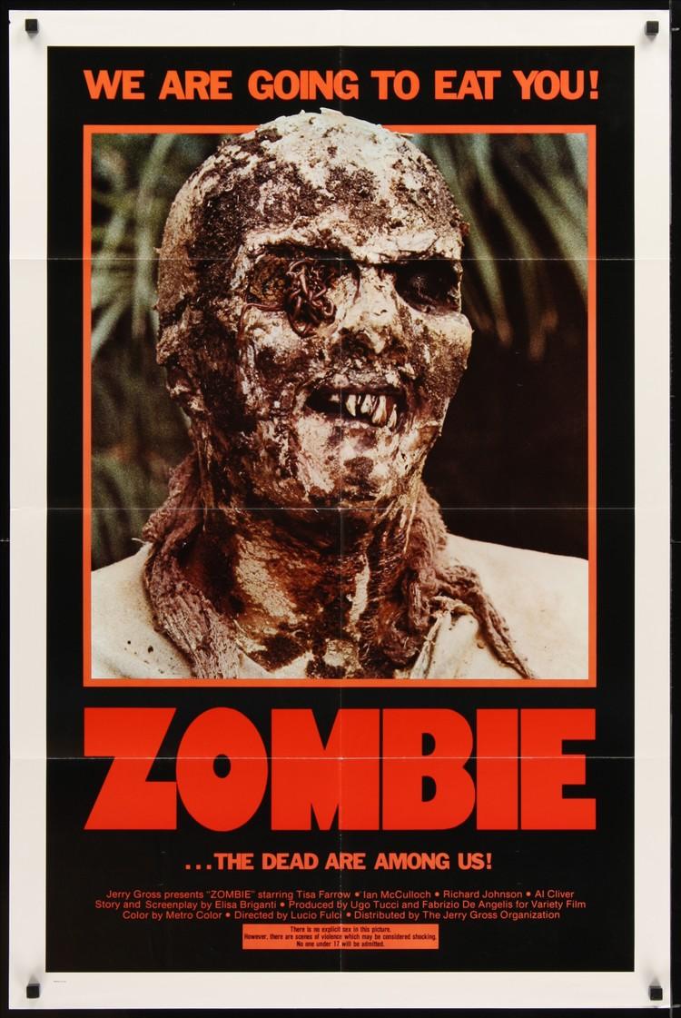Zombie - US 1 Sheet