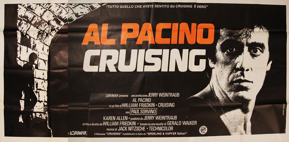 Cruising - Italian 6F Manifesto