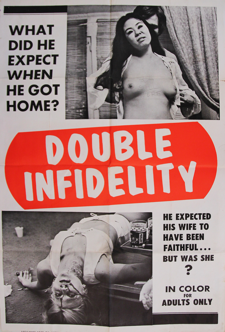 Double Infidelity - US 1 Sheet