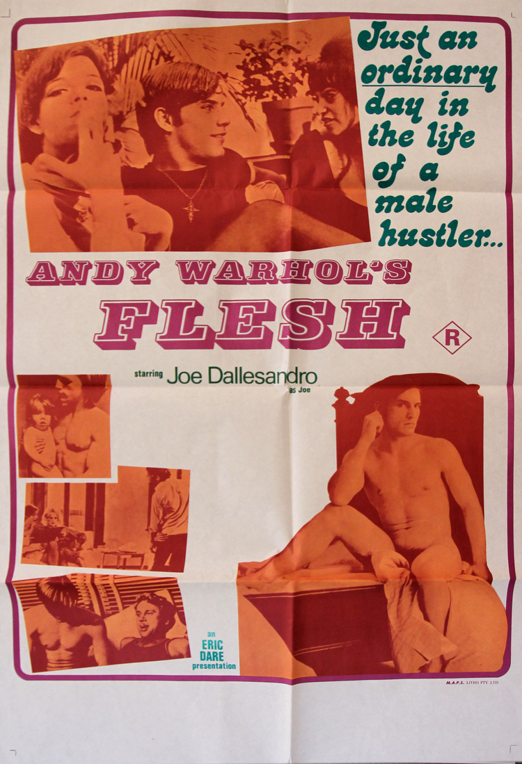 "Andy Warhol's Flesh - Australian 27x40"""