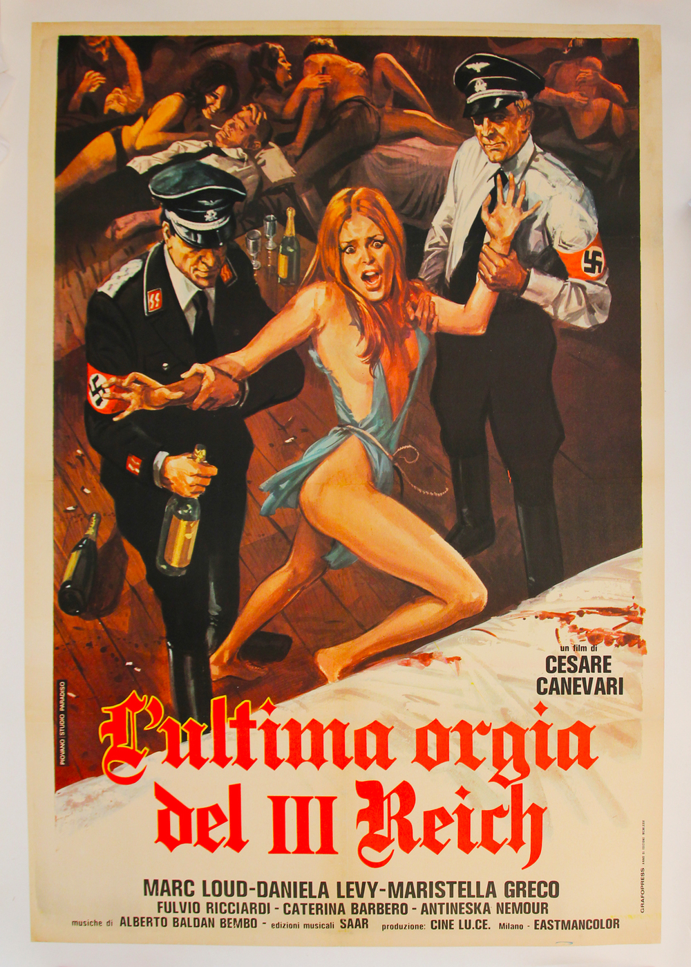 Gestapo's Last Orgy - Italian 2F Manifesto
