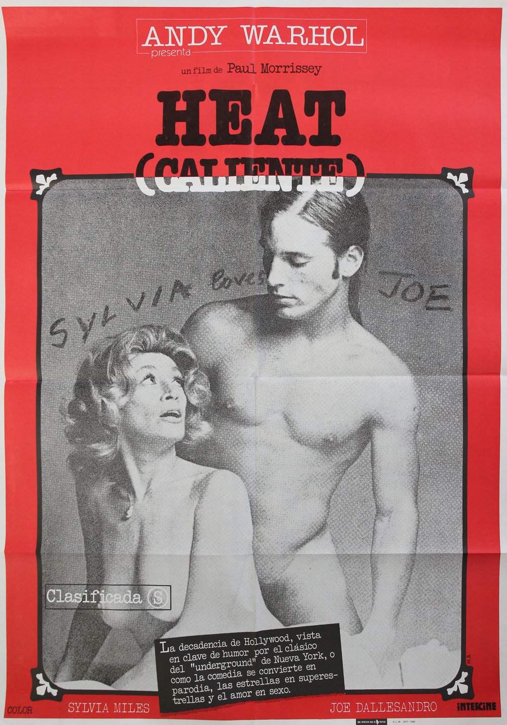 Andy Warhol's Heat - Spanish