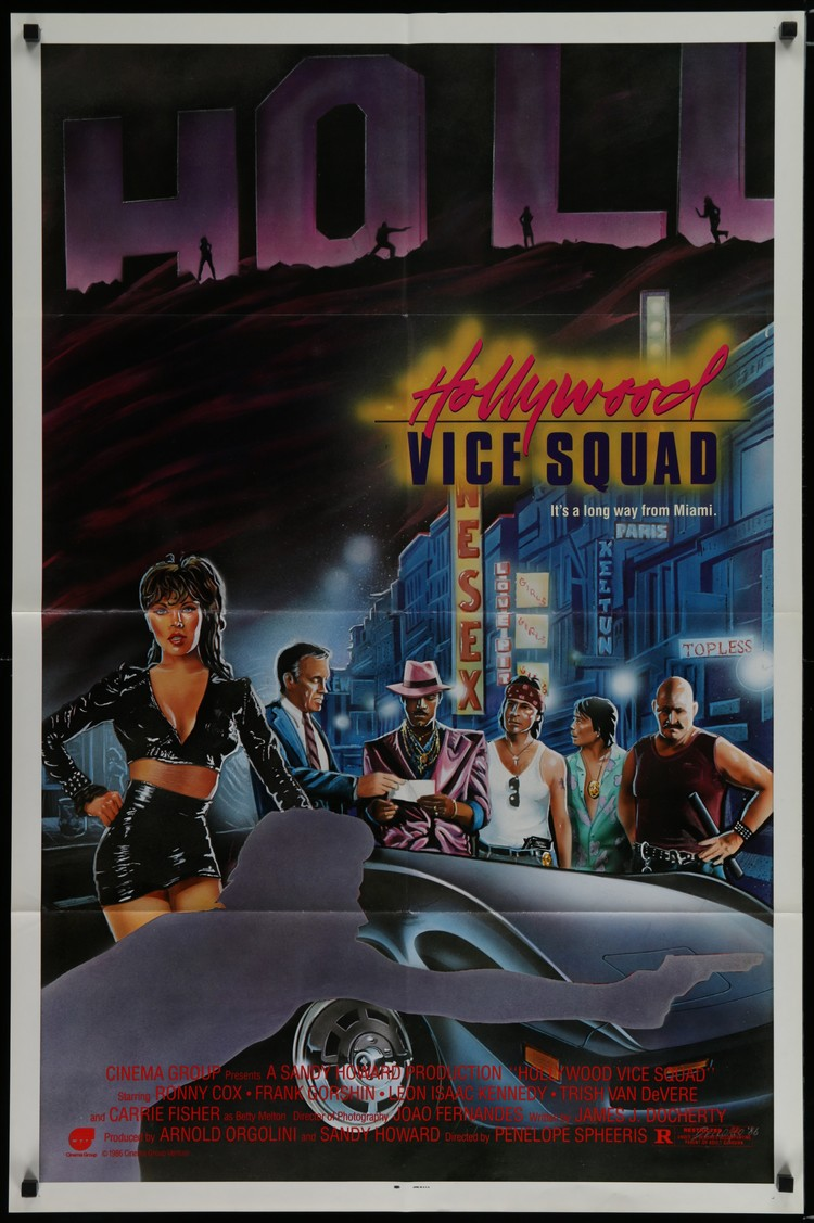 Hollywood Vice Squad - US 1 Sheet