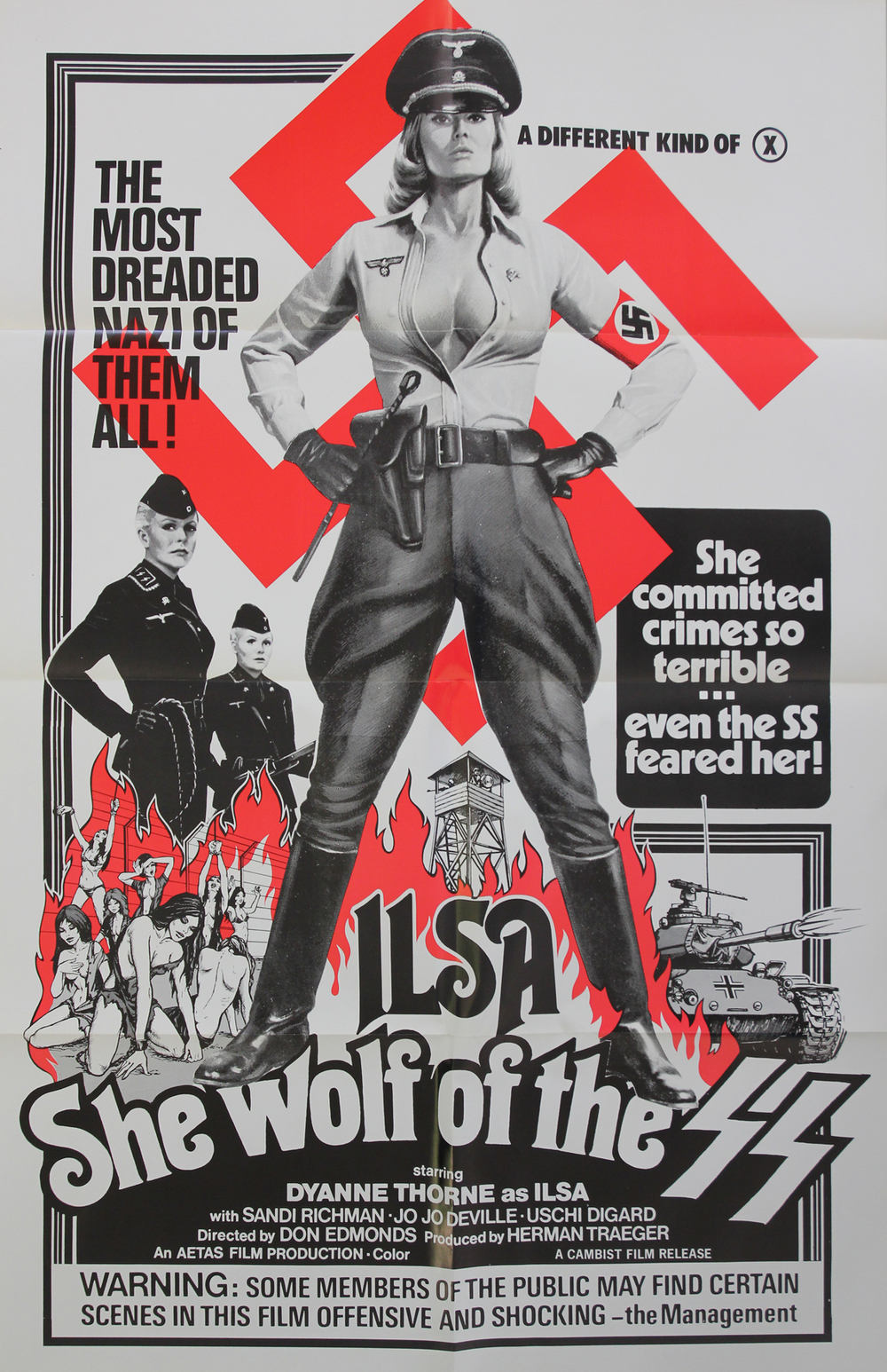 Ilsa She Wolf of the SS - US 1 Sheet