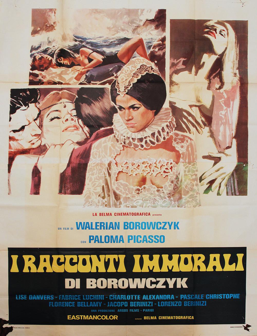 Immoral Tales - Italian 4F Manifesto