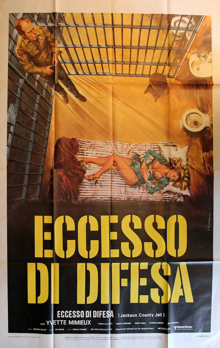 Jackson County Jail - Italian 4F Manifesto