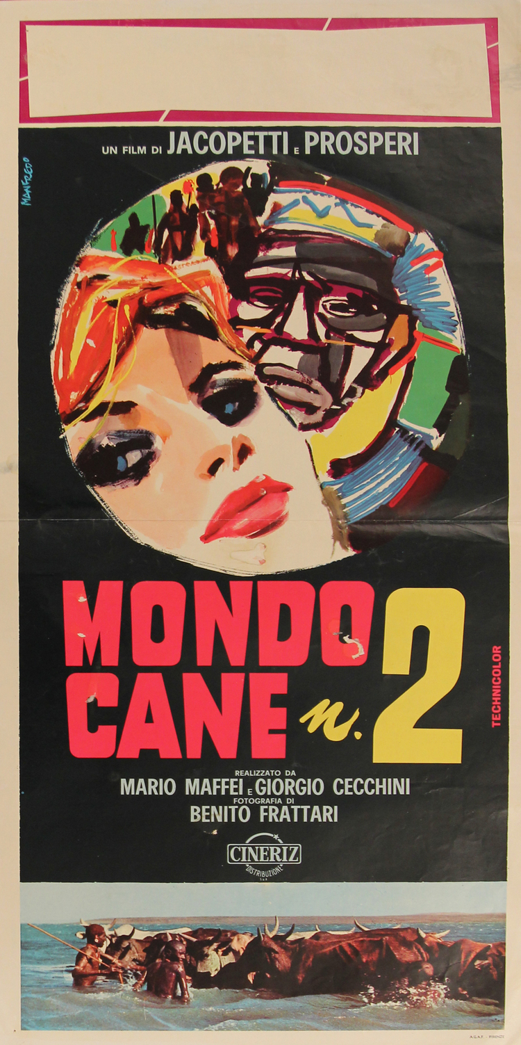 Mondo Cane 2 - Italian Locandina
