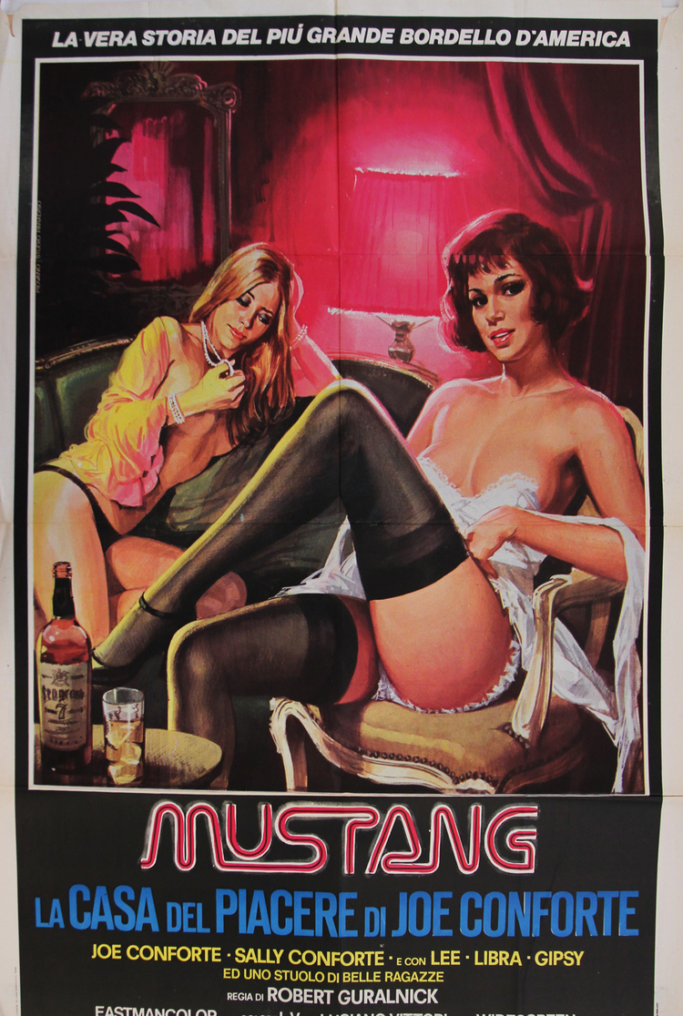 Mustang--House of Pleasure - Italian 2F Manifesto