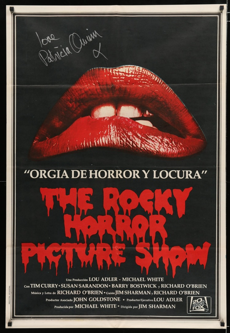 Rocky Horror Picture Show - Argentinian SIGNED 1-Sheet