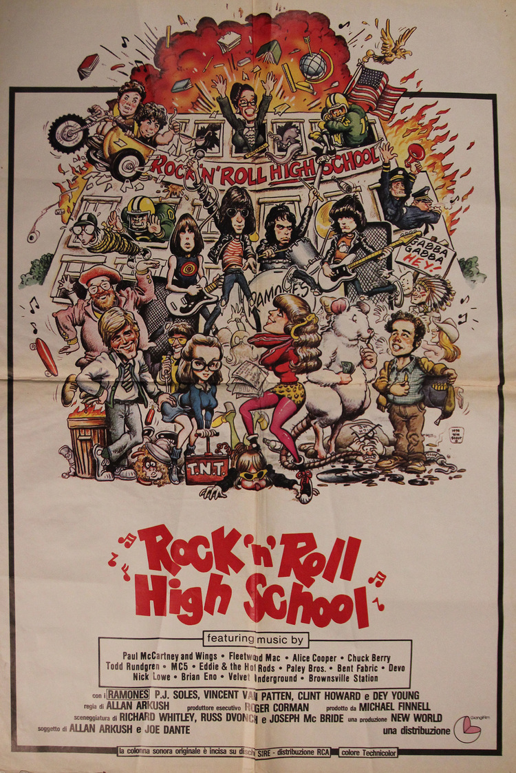 Rock 'n' Roll High School - Italian 1 Sheet