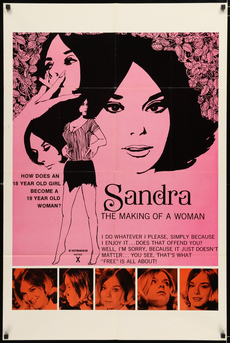 Sandra: The Making of a Woman - US 1 Sheet