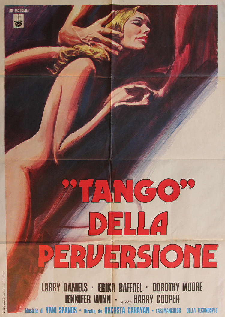 Tango of Perversion - Italian 2 Manifesto