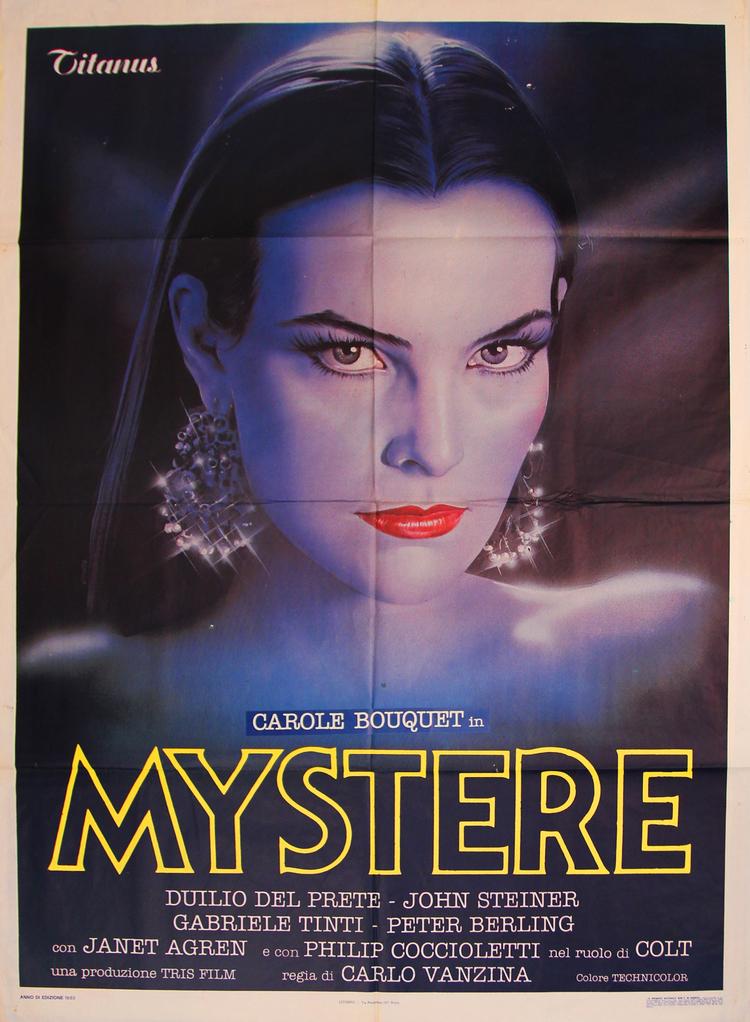 Mystere -  Italian 2F Manifesto