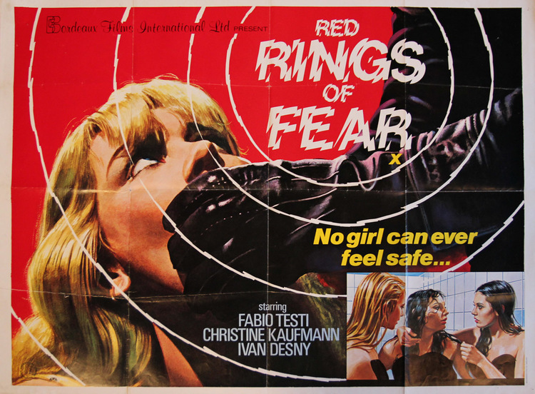 Red Rings of Fear - UK Quad