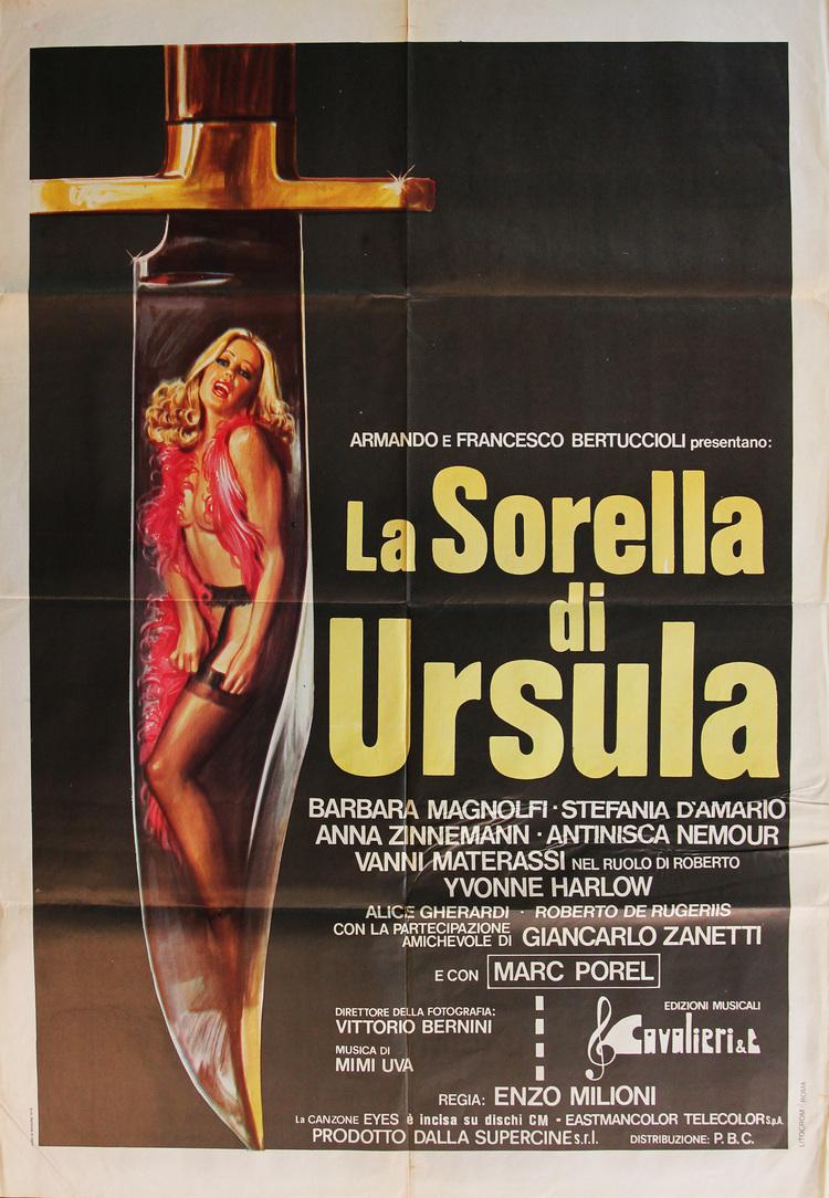 Sister of Ursula - Style A Italian 2F Manifesto