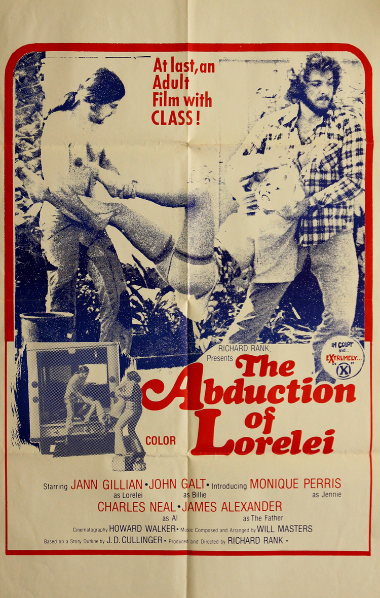 Abduction of Lorelei - US 1 Sheet