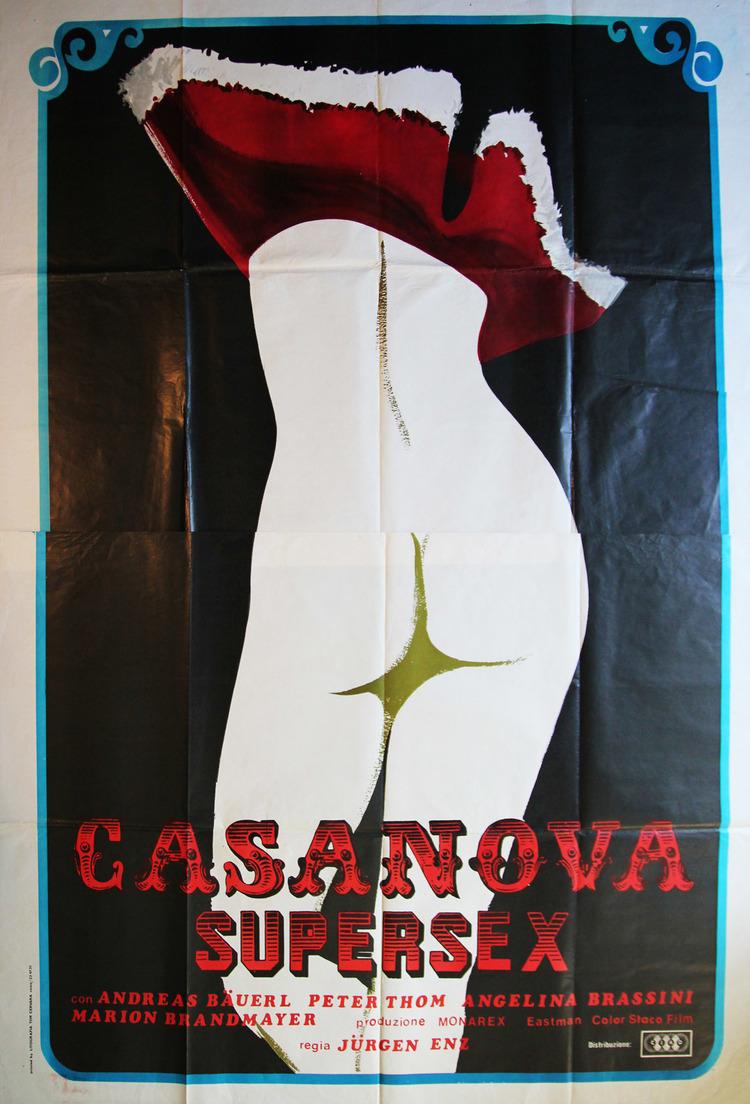 Casanova Supersex - Italian 4F Manifesto