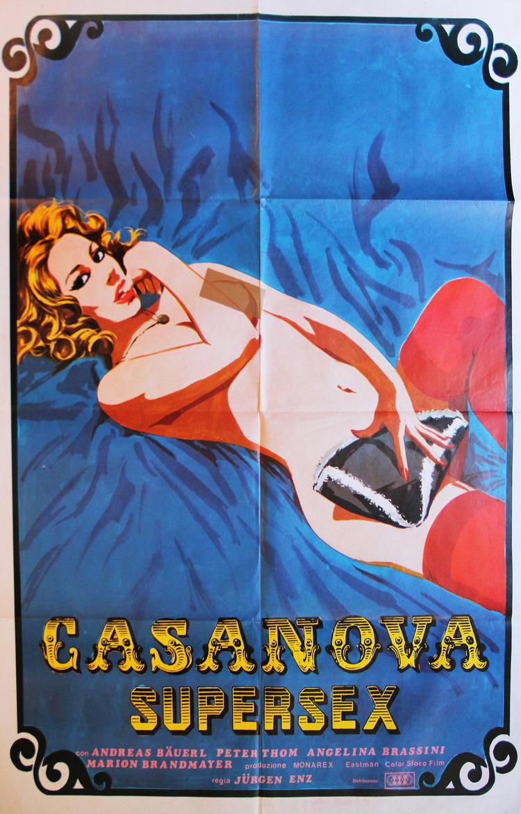 Casanova Supersex - Italian 2F Manifesto Style A