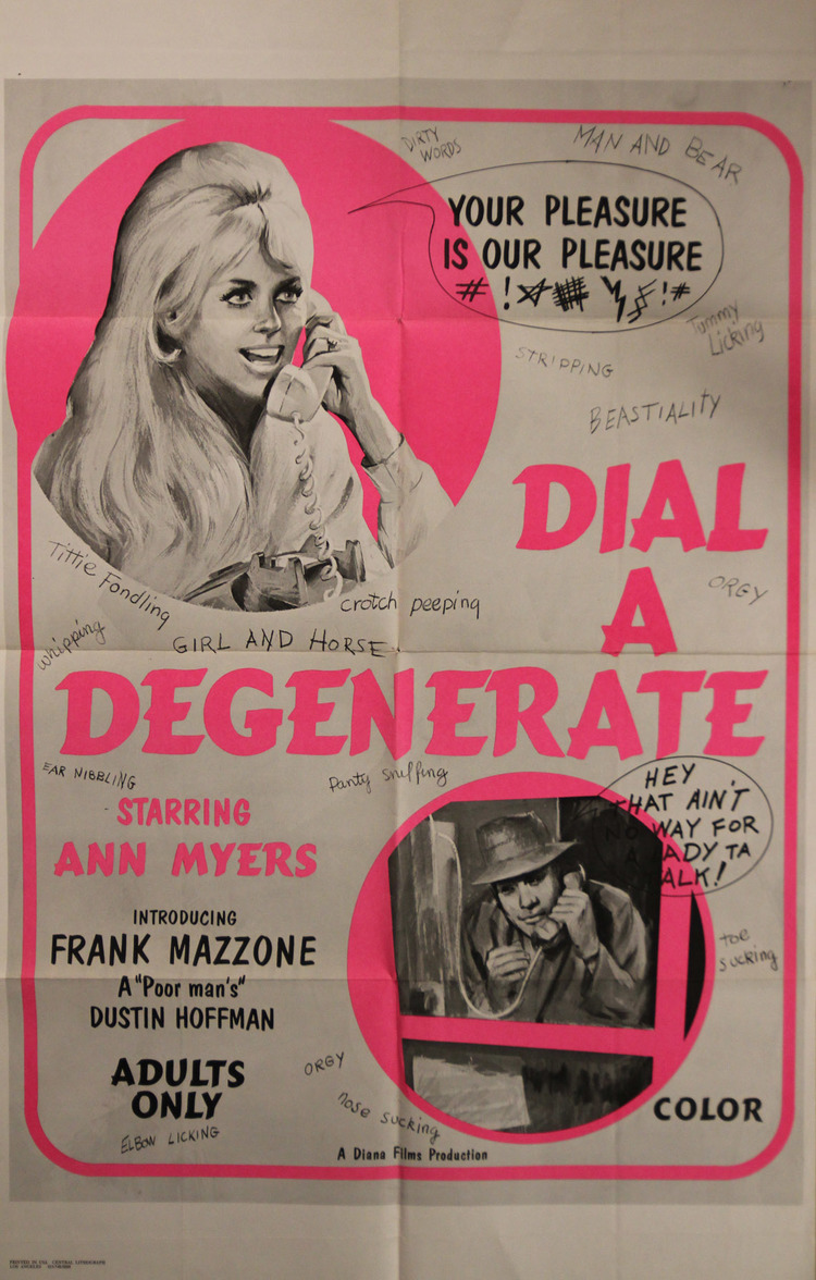 Dial-A-Degenerate - US 1 Sheet