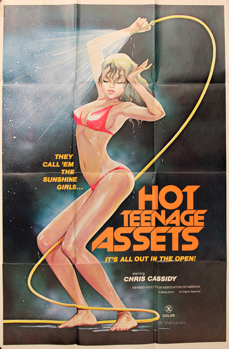 Hot Teenage Assets - US 1 Sheet