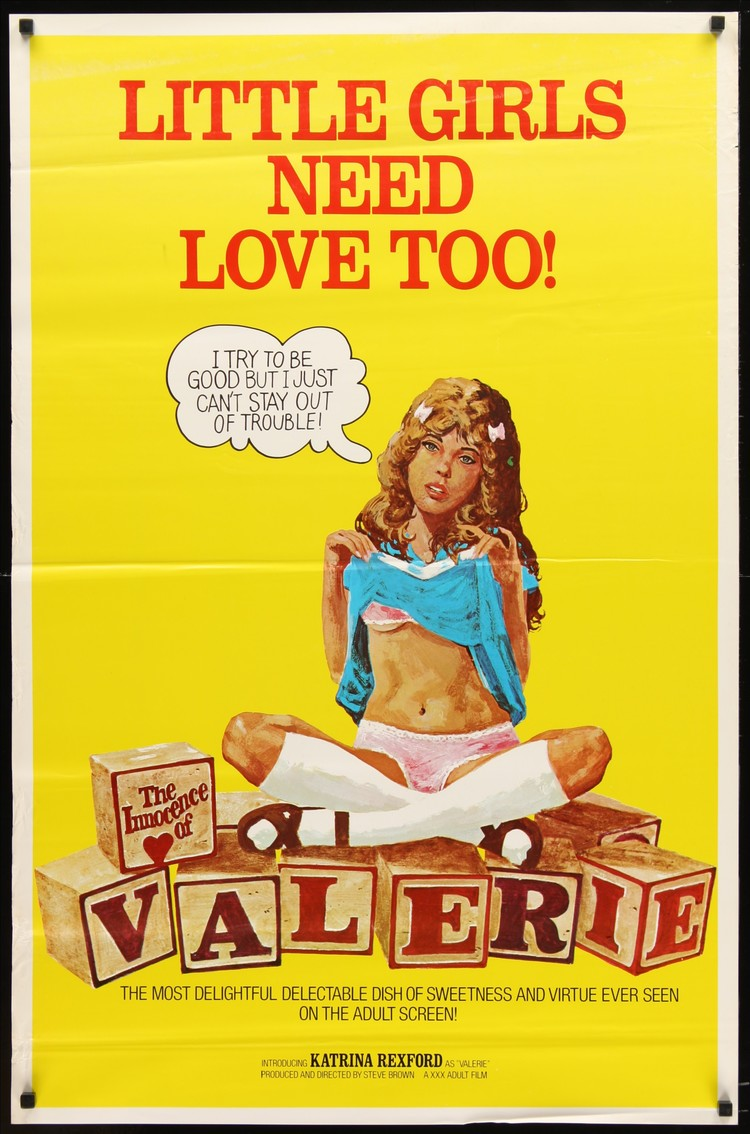Innocence of Valerie - US 1 Sheet