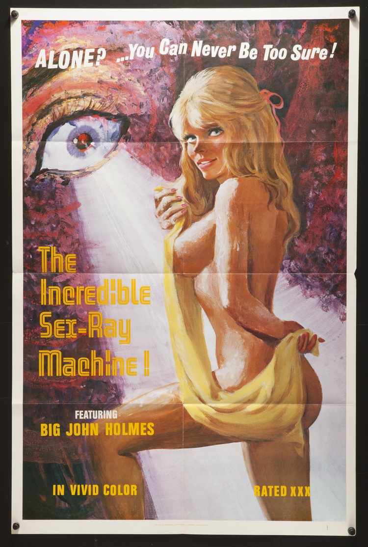Incredible Sex Ray Machine - US 1 Sheet