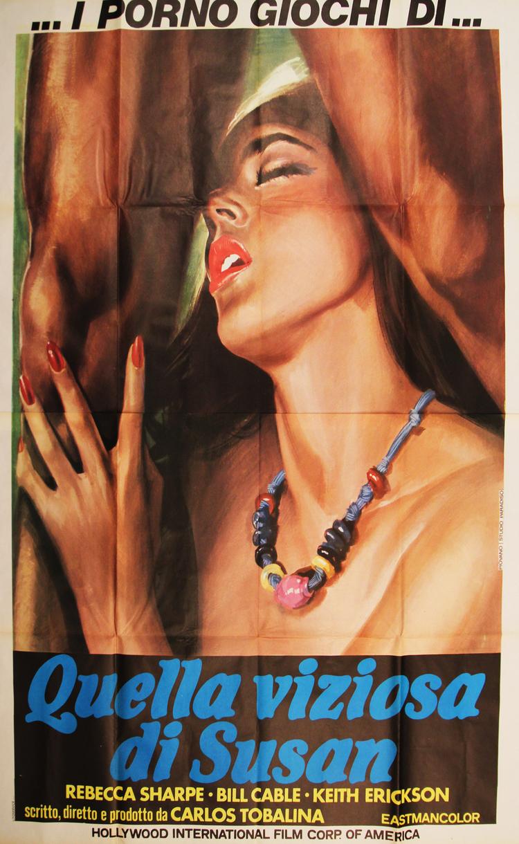 Last Tango In Acapulco - Italian 4F Manifesto