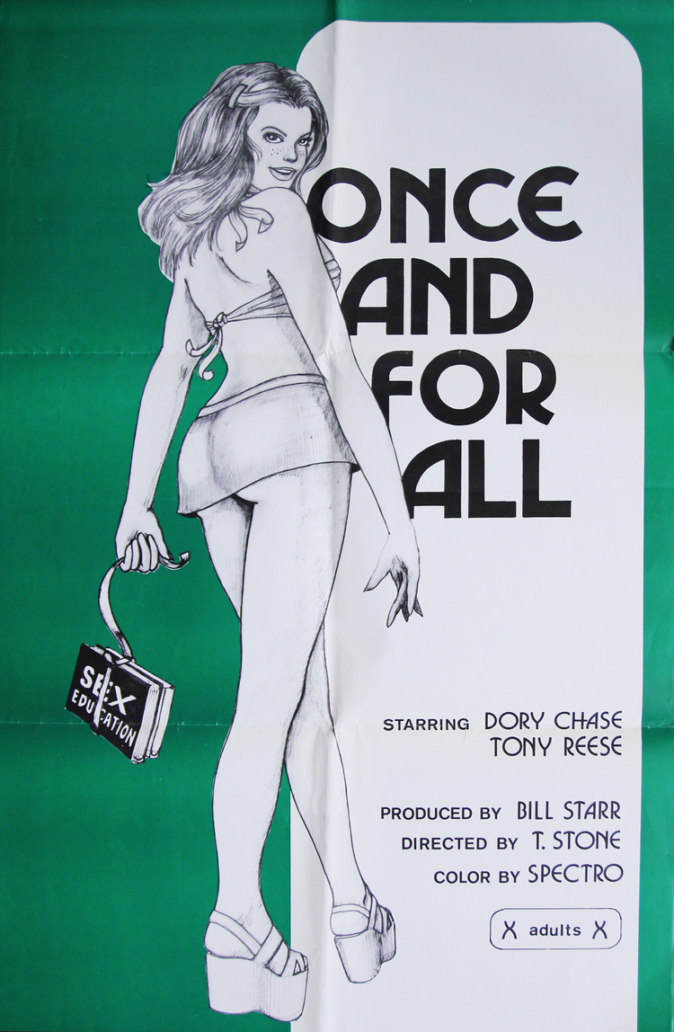 Once and For All - US 1 Sheet