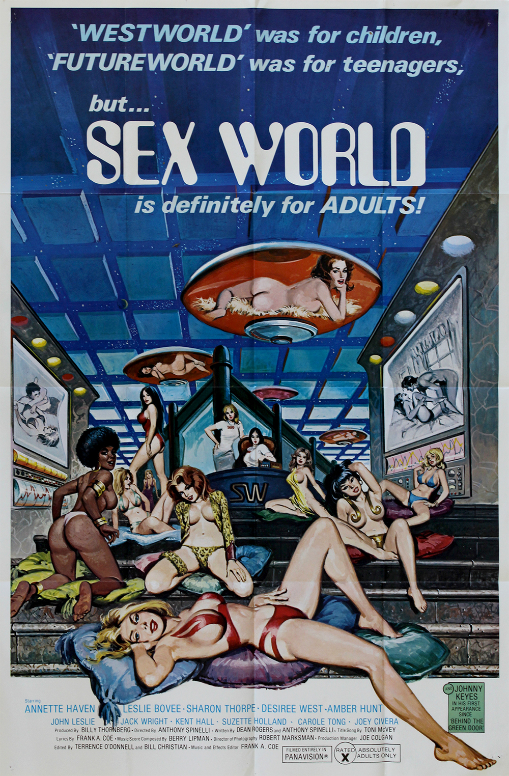 Sex World - US 1 Sheet