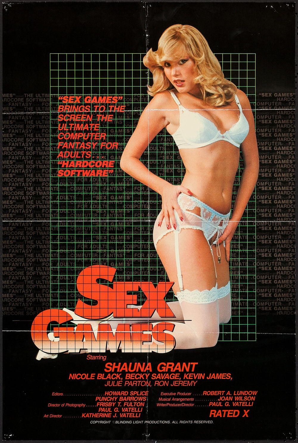 Sex Games - US 1 Sheet
