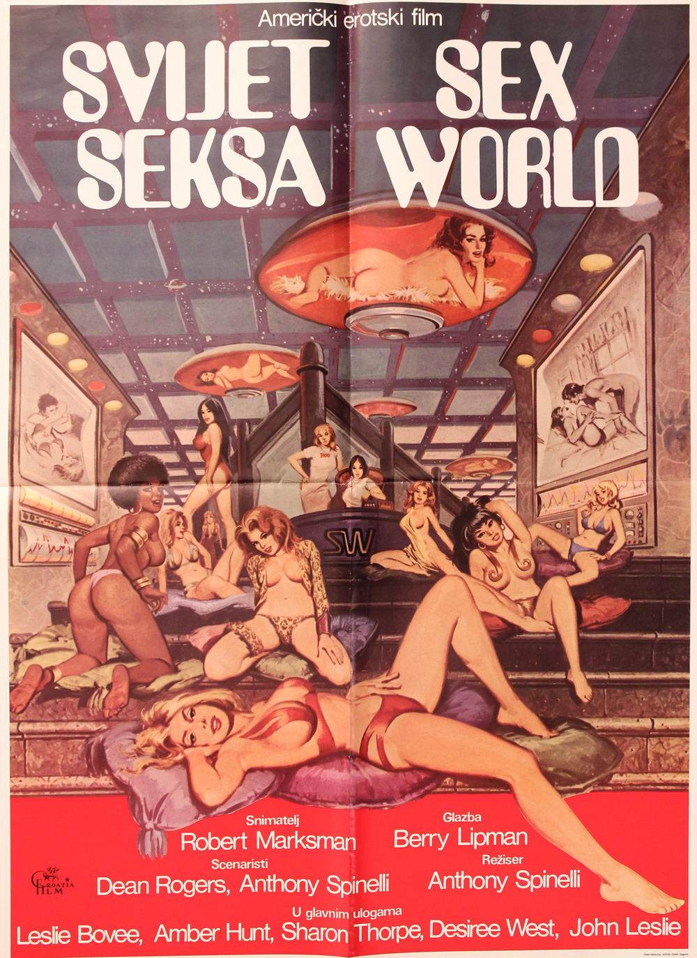 Sex World - Italian 2F Manifesto
