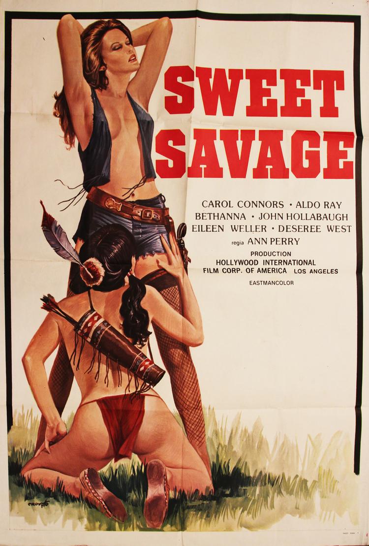 Sweet Savage - Italian 2F Manifesto