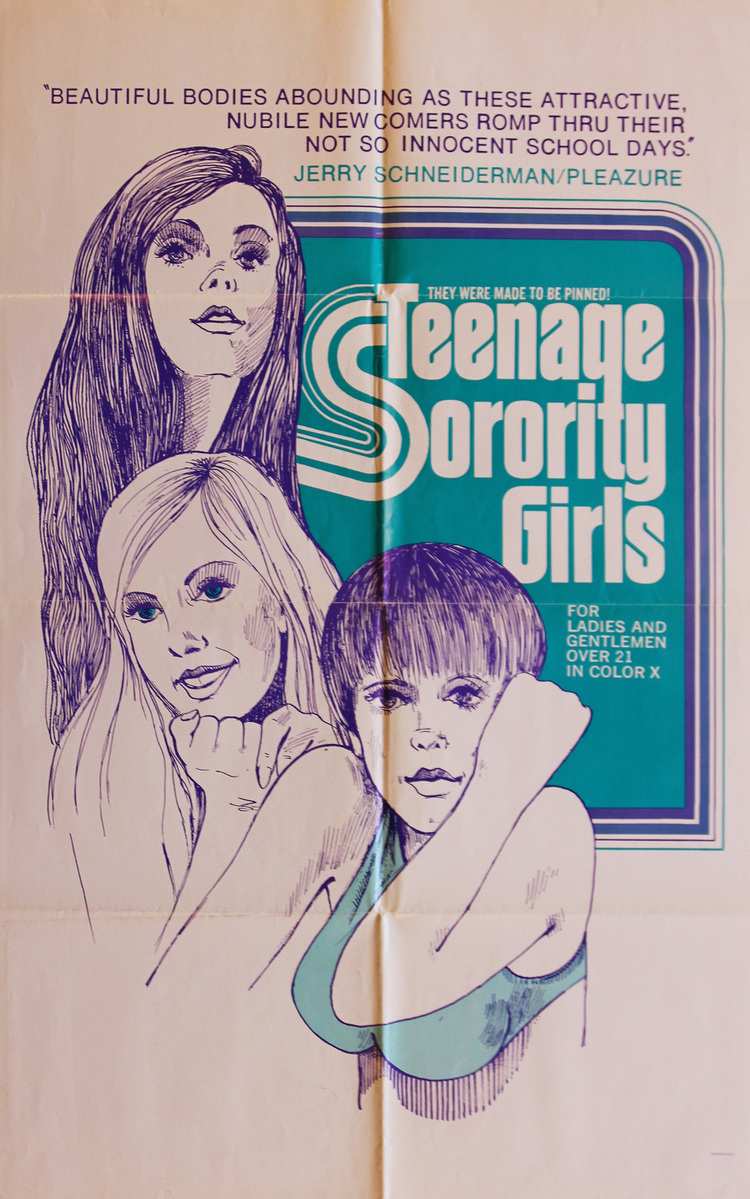 Teenage Sorority Girls - US 1 Sheet