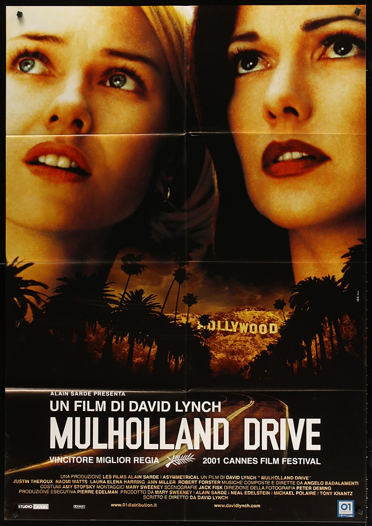 Mulholland Drive - Italian 2F Manifesto