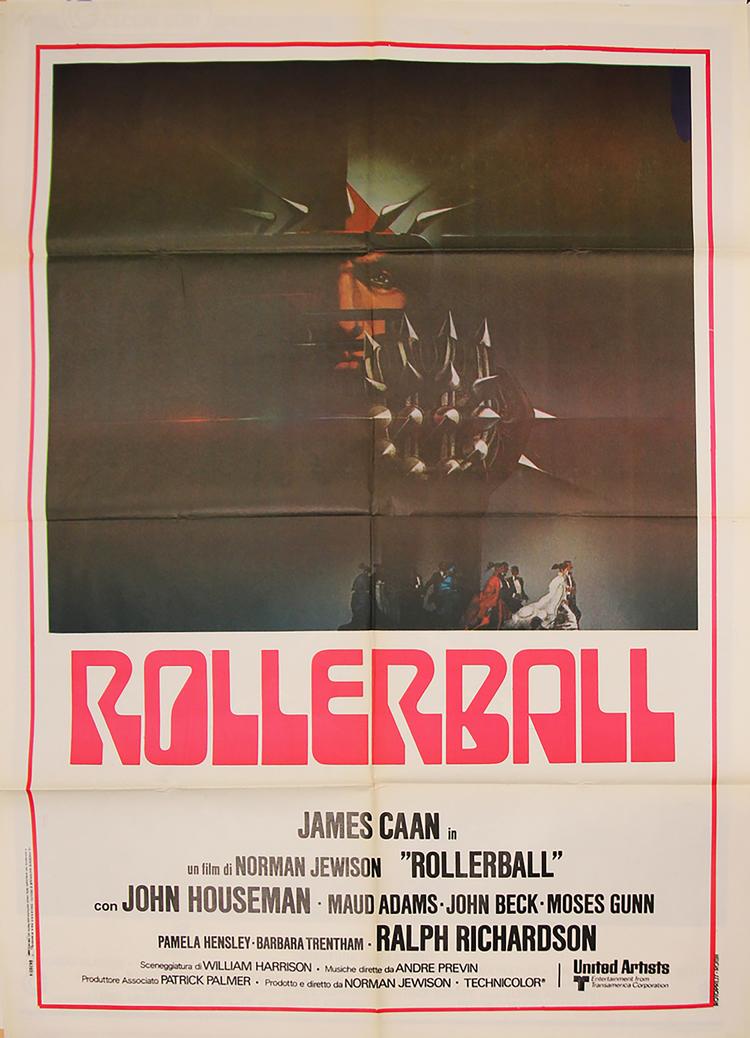 Rollerball - Italian 2F Manifesto
