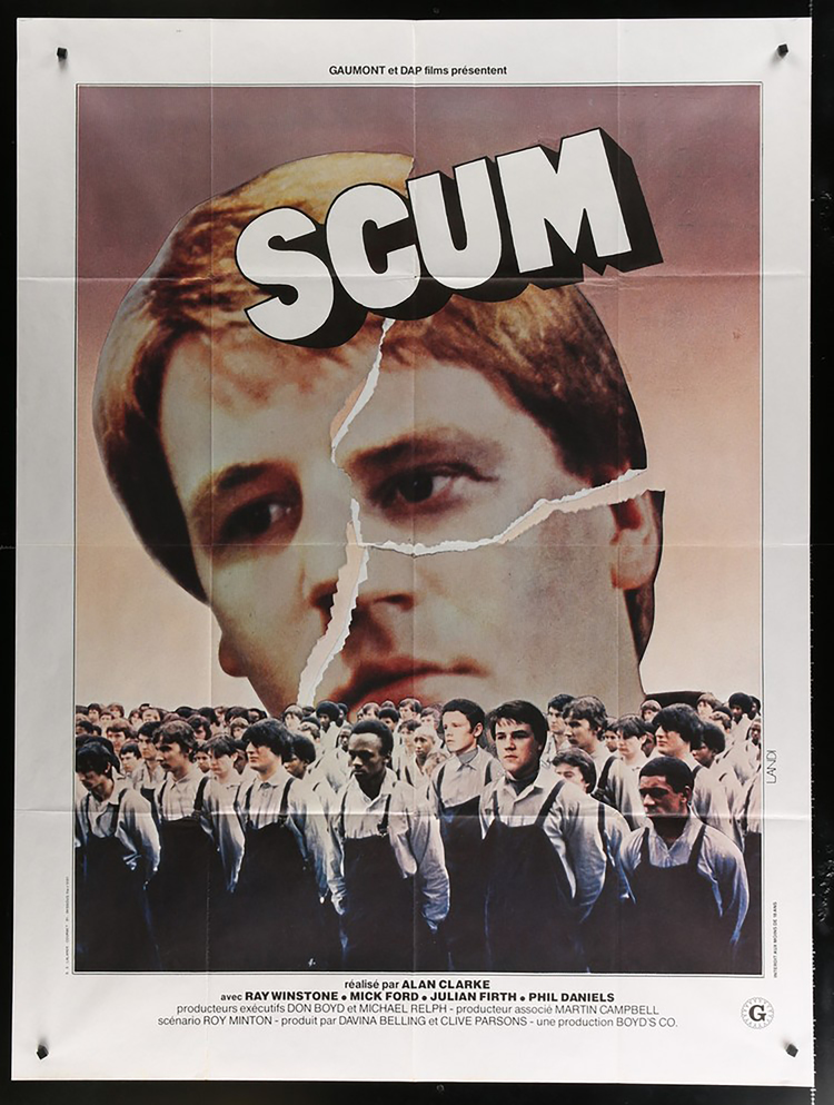 Scum - French  47 x 63